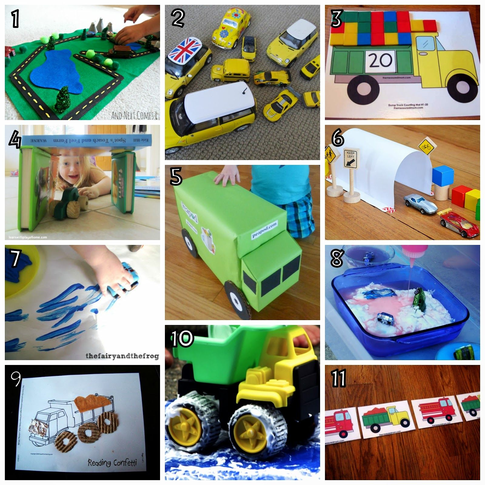 Activities With Cars And Trucks 1 600 1 600 Pixels