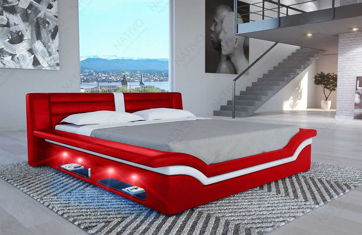 Design bed EVERLAST met LED verlichting | NATIVO™ design bedden ...