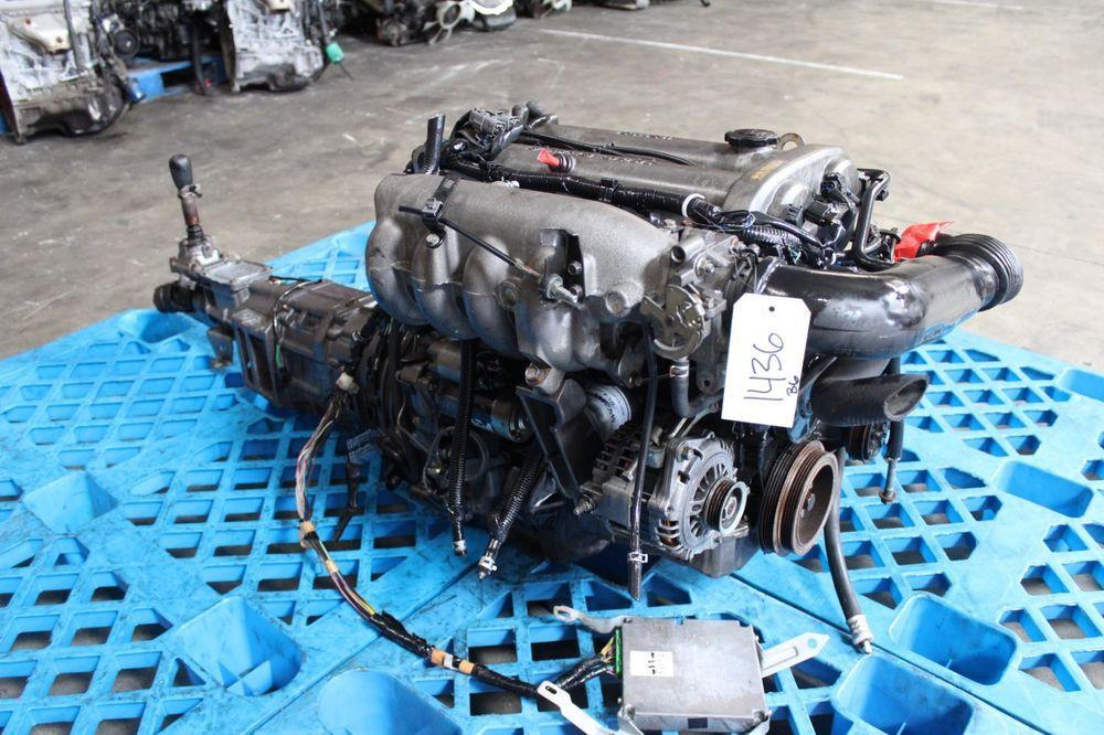 JDM 98-2000 MAZDA MIATA B6 1 6L 16V ENGINE MANUAL VERSION