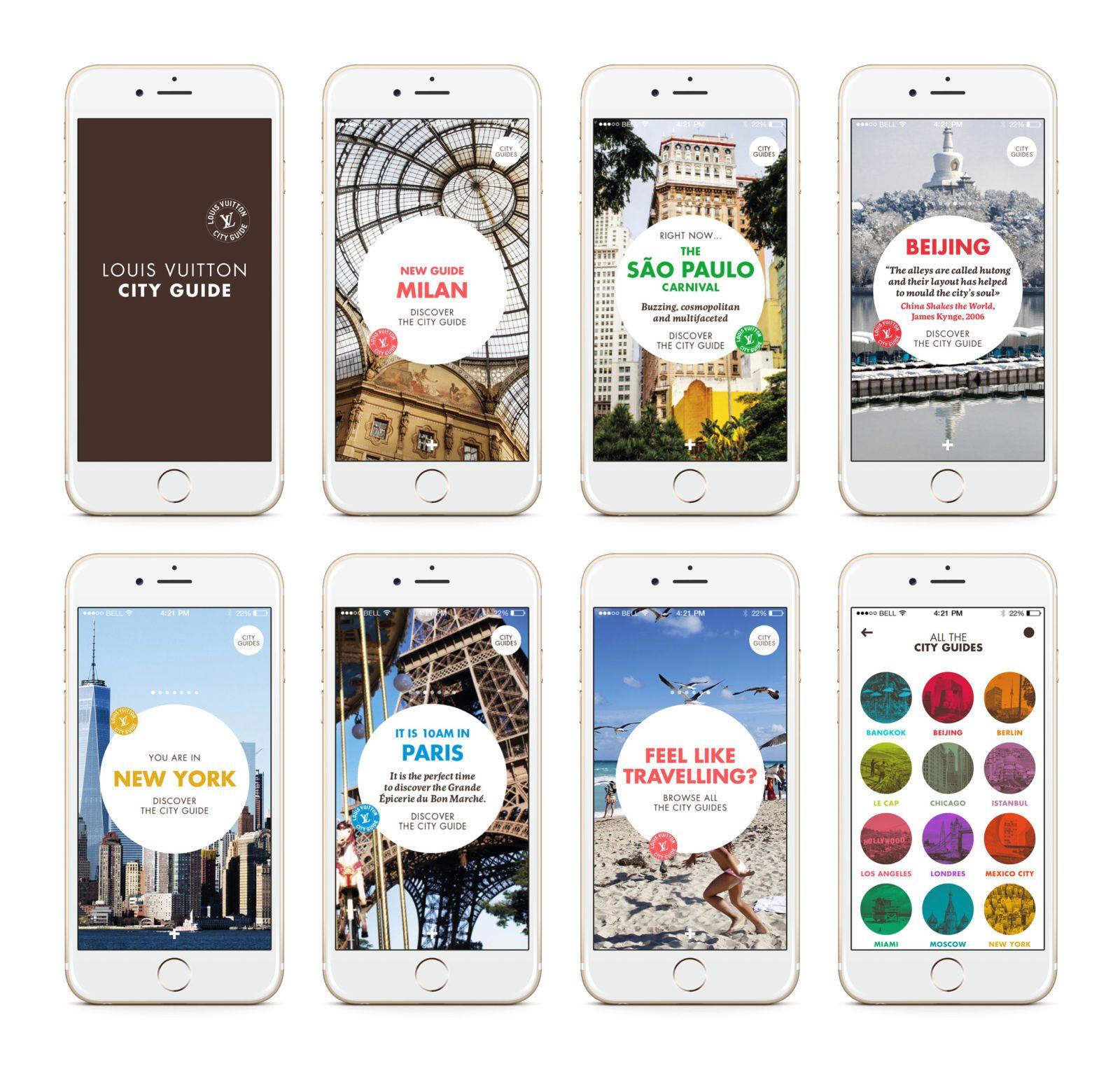 Louis Vuitton Launches City Guide Apps - HarpersBAZAAR.com