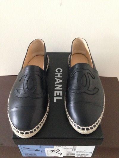 0cb1ce90d10 CHANEL FLATS Chaussures Pour Hommes