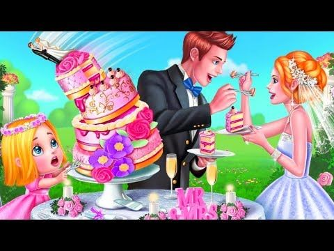 Best Games For Girls To Play Wedding Planner Dress Up Makeup Cake Wedding With Kids Wedding Planner Games Planner Girl