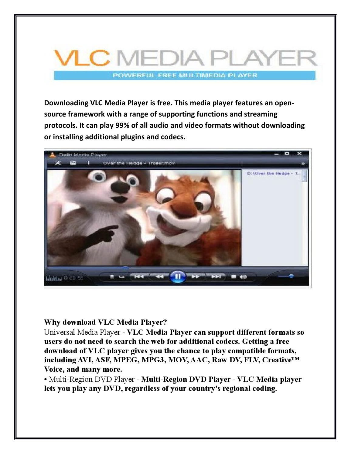 download vlc media player for hd videos