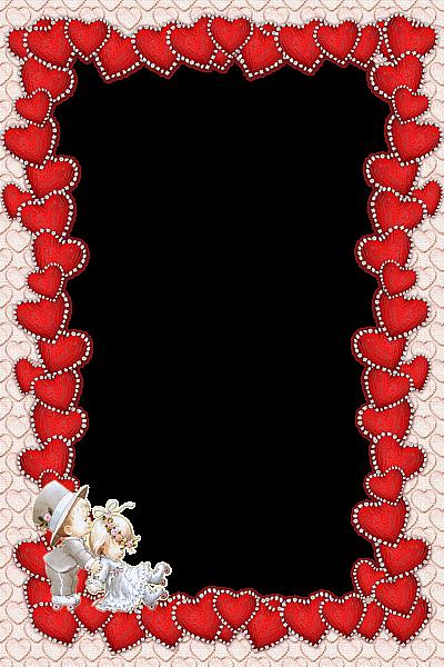 Red Frames Png Valentines Transparent Red Frame