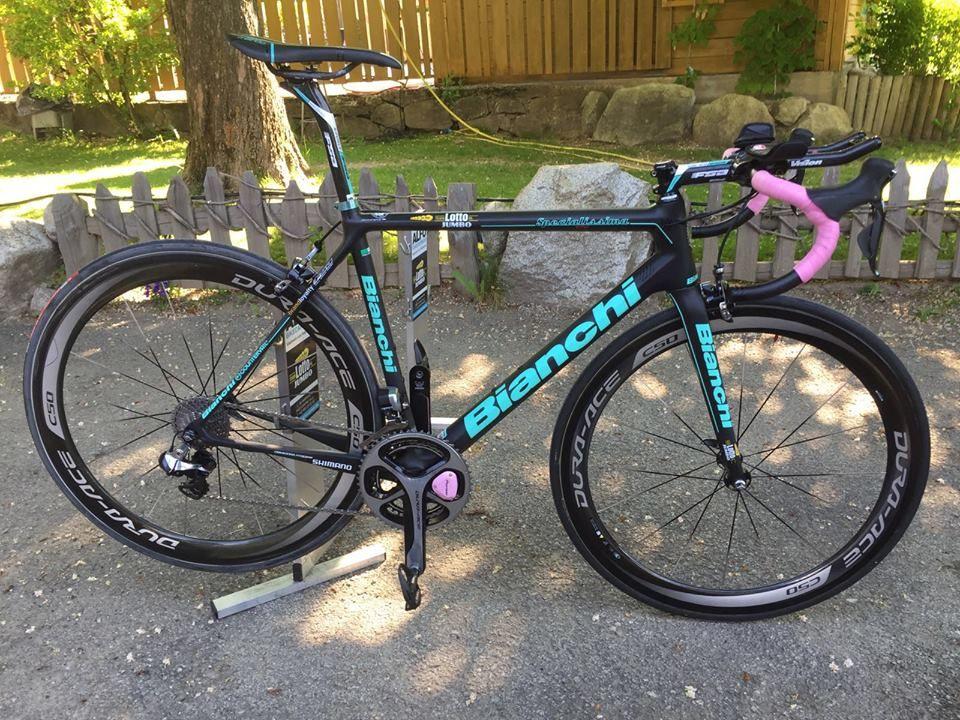 8e8945321 Steven Kruijswijk s Bianchi Specialissima