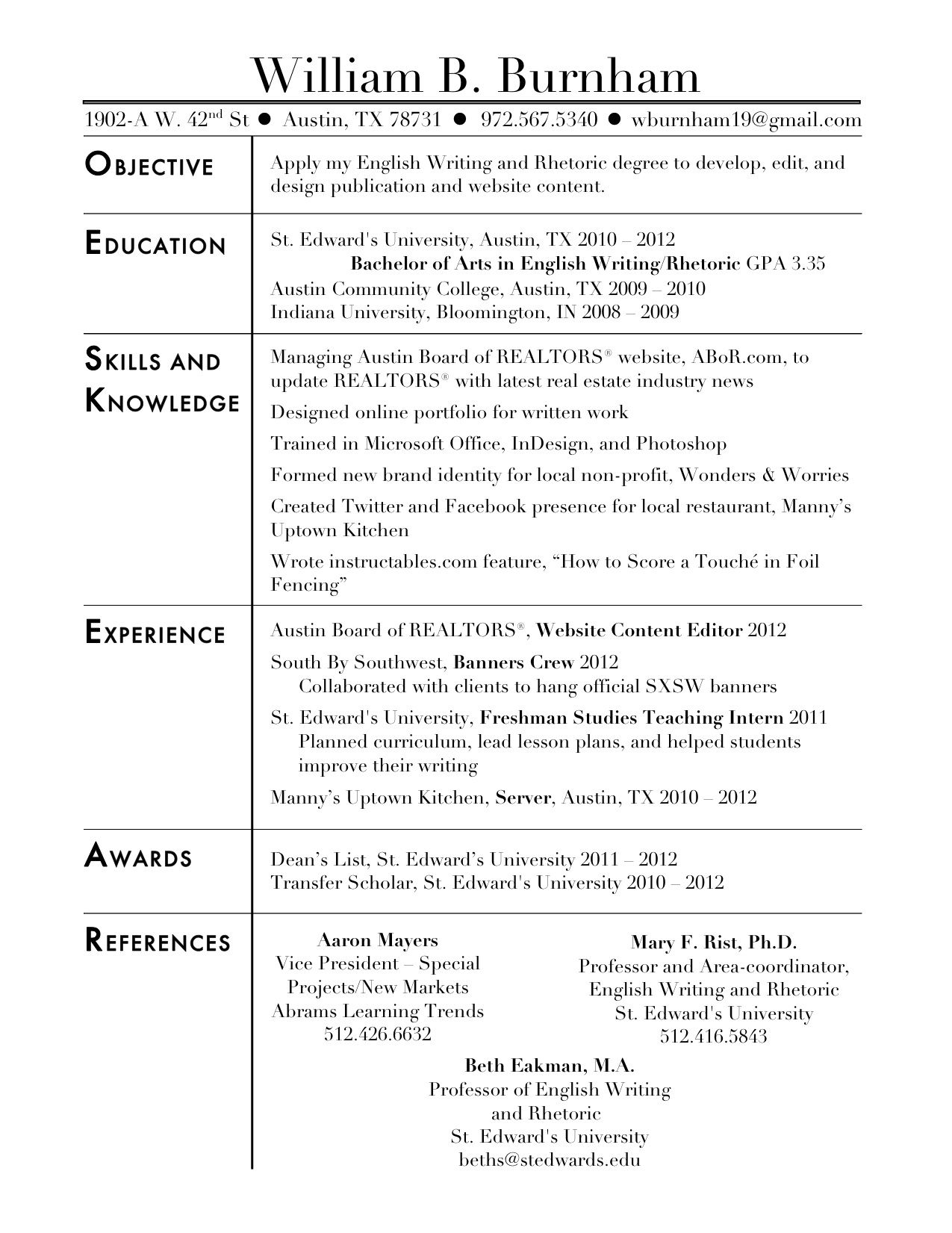 16 social work resume objective examples - Objective For Social Work Resume