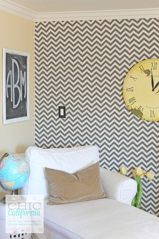 Paint That Looks Like Wallpaper starch + fabric = (removable) faux wallpaper | fabric wallpaper