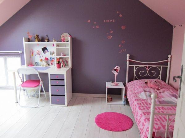 Chambre numéro 2 | Mauve, Chambre enfant et Chambres