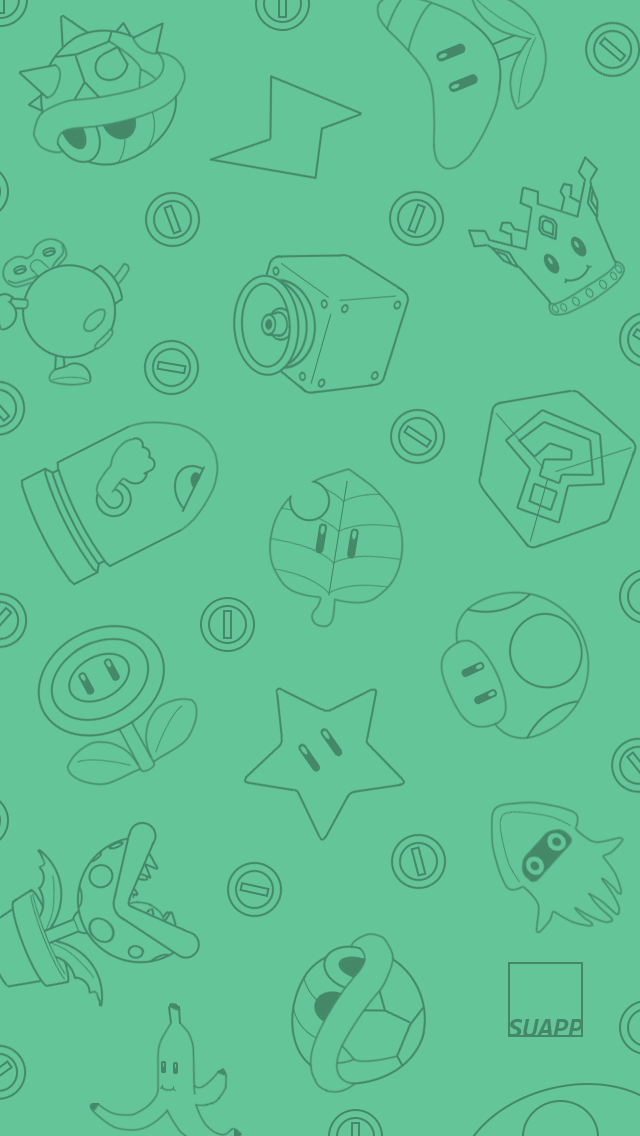 iPhone Wallpapers 8: Mario Kart!