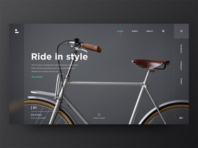 50 Fabulous Black & White Web UI Designs – Bashooka
