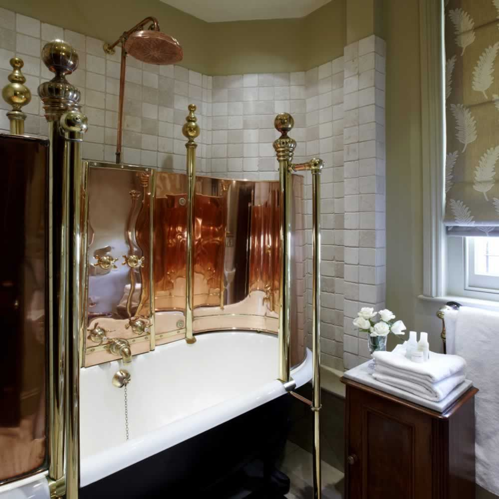 Gallery The Rookery Hotel London Copper Tub Surround