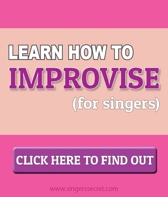 Tutorial on how to improvise for singing. http://singerssecret.com/how-to-improvise-for-singers/ #singing #singingtips