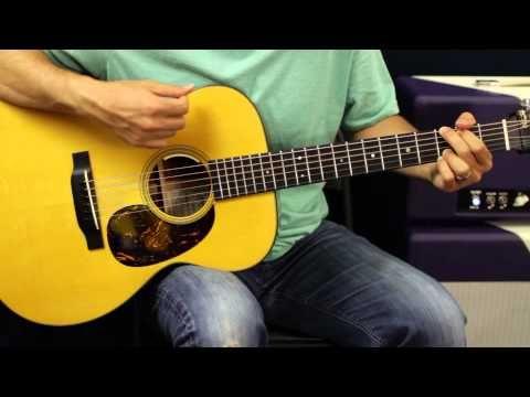 John Mellencamp Pink Houses Acoustic Guitar Lesson Beginner