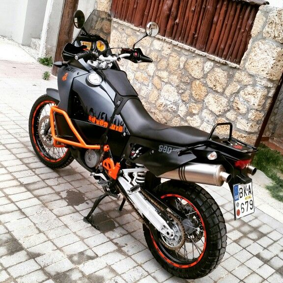 Ktm 990 Adventure 08 Ready To Race Akrapovic Exhaust So Fun To Drive It Rally Dacar Category Ktm Adventure Ktm Adventure Motorcycling