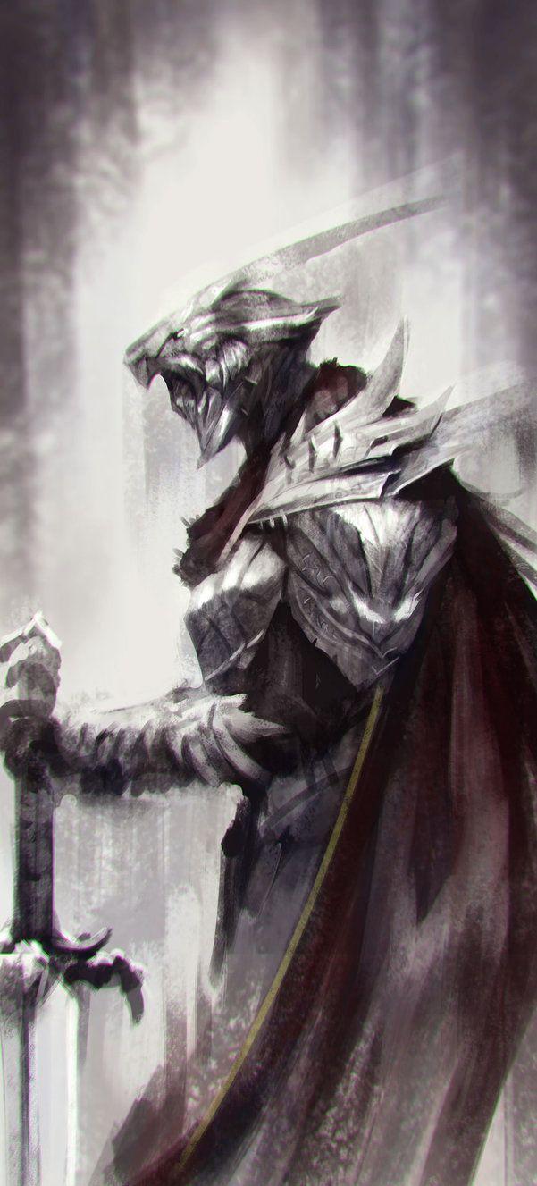 Fallen Knight by jeffchendesigns.deviantart.com on @DeviantArt