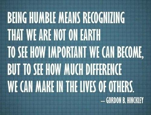 Humility_Quotes1 Attitude of Gratitude Pinterest