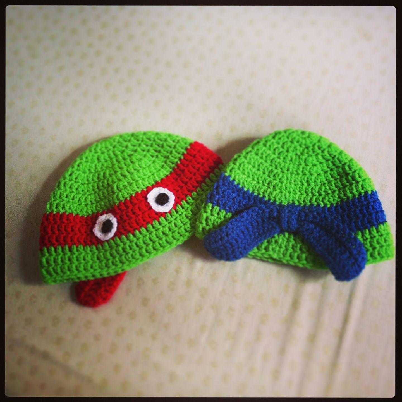 Tortugas Ninja  gorro crochet  Ninja Turtles