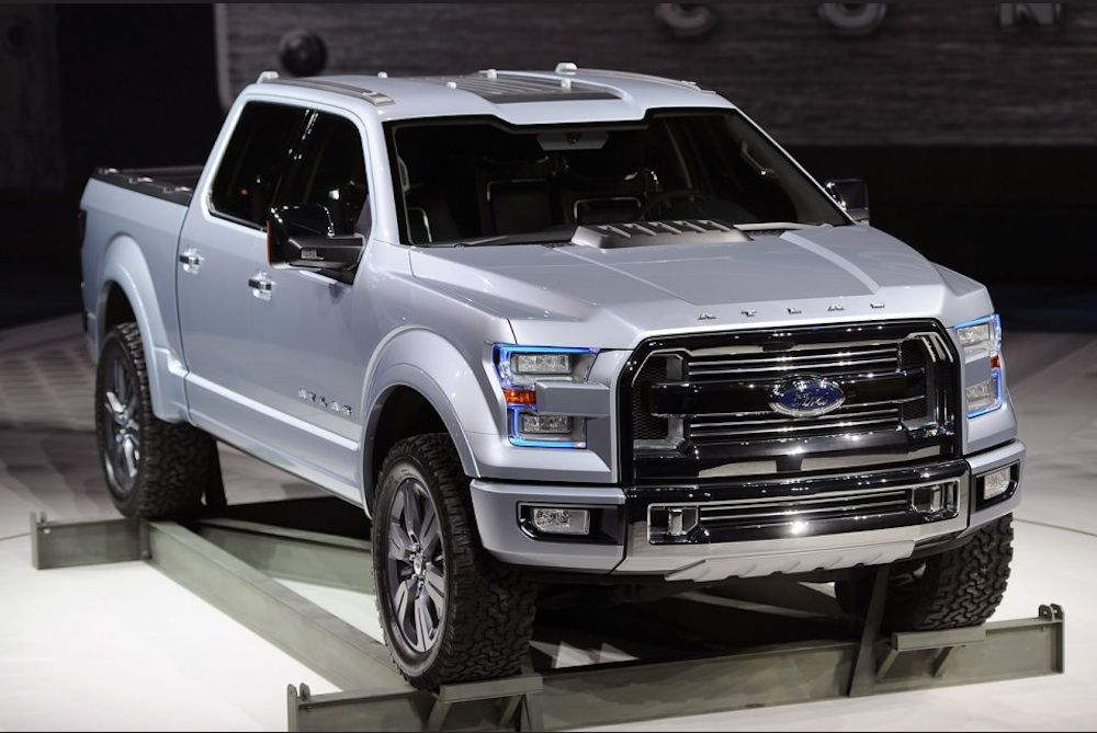 New Ford F150 >> New Ford Trucks Ford Steals The Show At Naias With Atlas