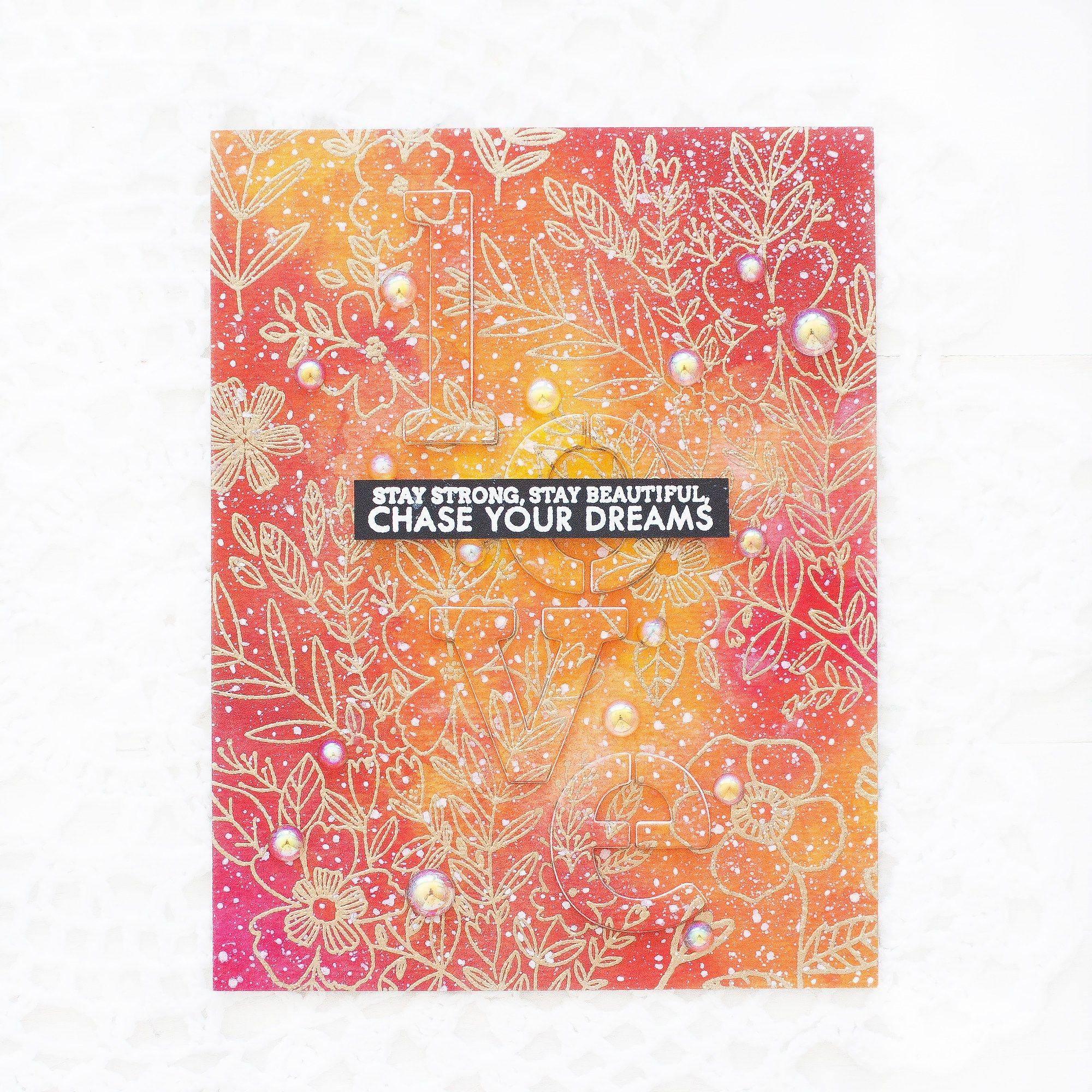 Pinkfresh Studio Liquid Watercolor Blog Hop Giveaway