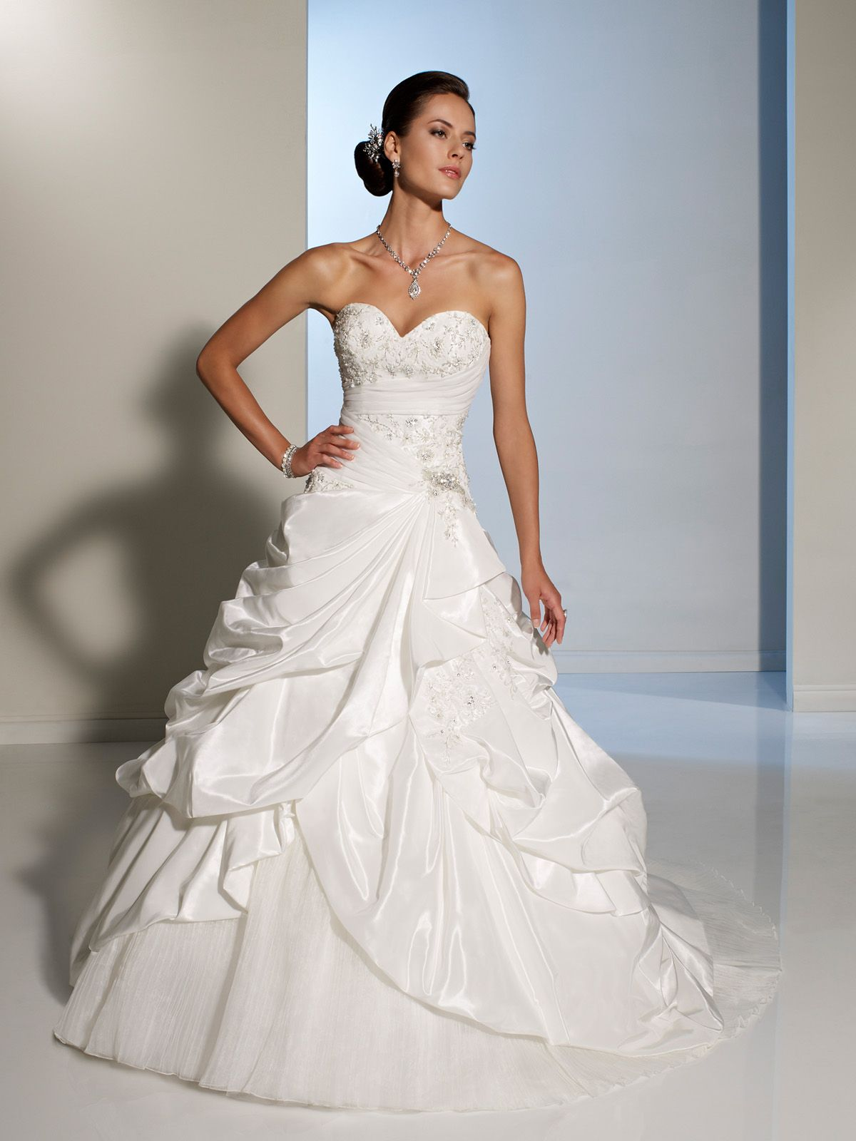Sophia Tolli 1248 At House Of Brides Wedding Dress Wedding Dress Train Wedding Dresses Sophia Tolli Wedding Dresses