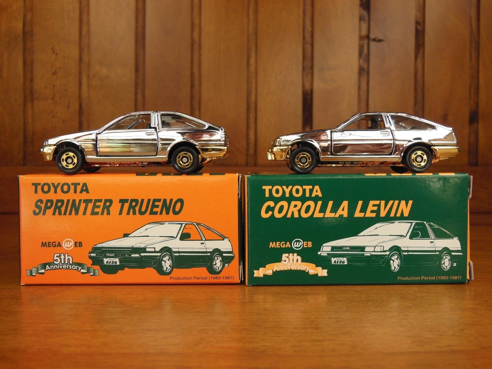 Tomica Toyota AE 86 LEVIN And TRUENO 2 Madels Grease ORIGINAL TOMICA Rare !  | EBay