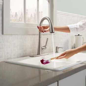 Kohler Malleco Touchless Pull Down Kitchen Faucet With Soap