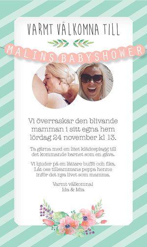 Babyshowerkoncept
