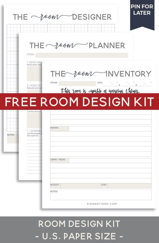 Design Your Room Free Kit Pig Tiger Renovation