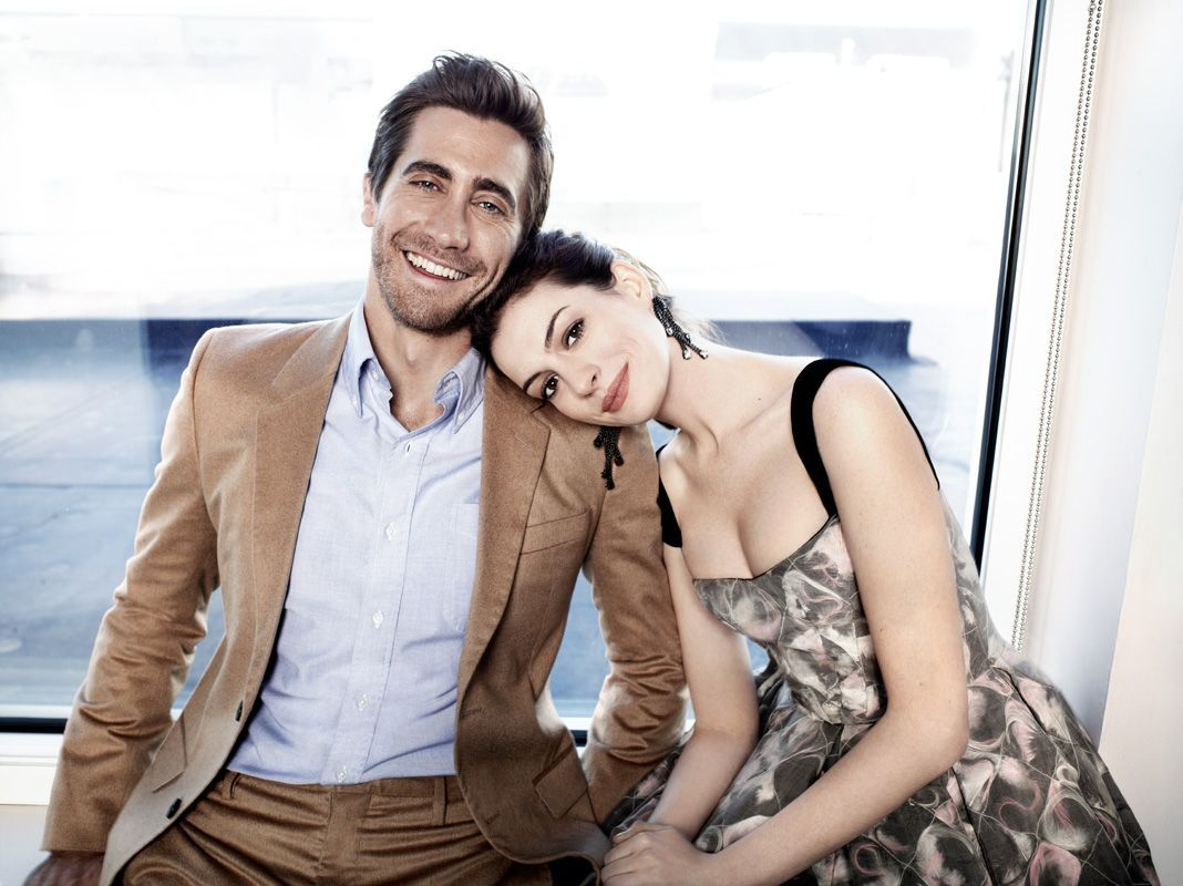 Jake Gyllenhaal And Anne Hathaway Photographed By James White