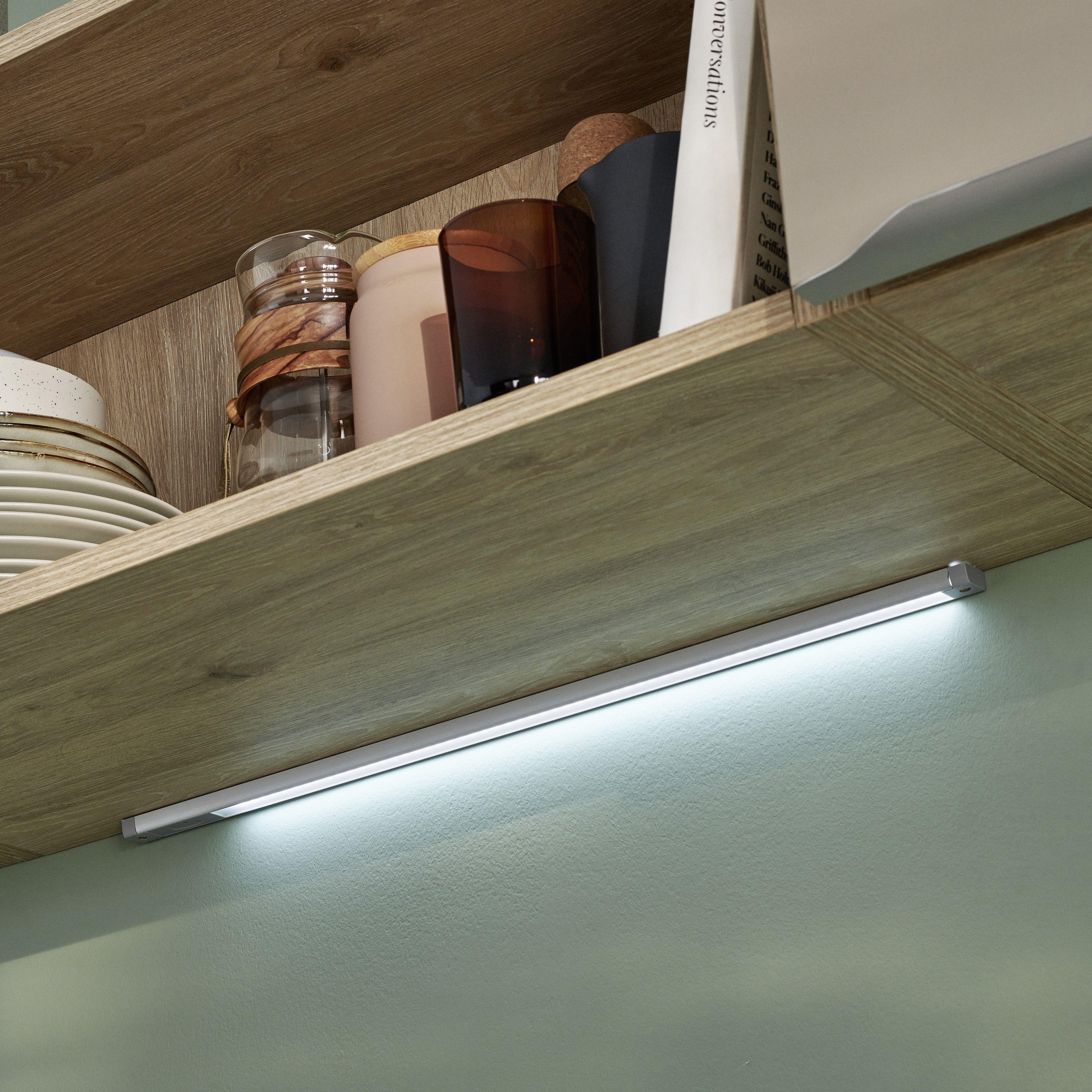 Eclairage Sous Meuble Cuisine Sans Interrupteur réglette led alu | cuisine fonctionnelle, mobilier de salon