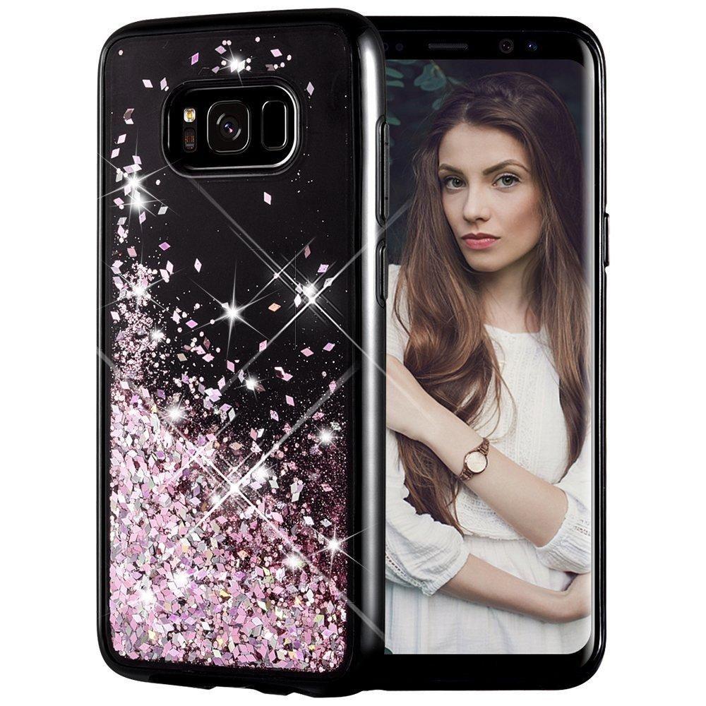 Galaxy S8 Case, Caka Glitter Case [Starry Night Series] Luxury Fashion Bling...
