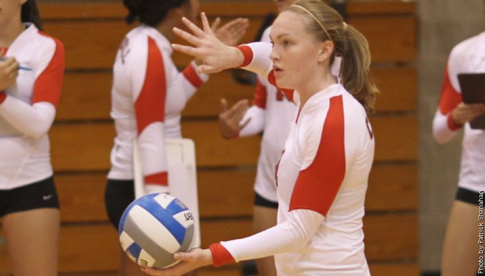 Madeleine Przybyl 08 Volleyball Player And Tri Captain At Cornell University Was Named Second Team A Cornell University Volleyball Players Athletic Training