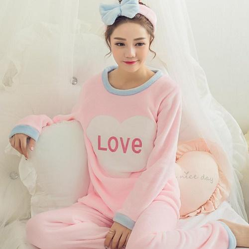 a6608e9149606 Gender  Women Item Type  Pajamas Model Number  HZ1123C Material  Acrylic  Sleeve Length(cm)  Full Pattern Type  Cartoon Season  Autumn Length  Full  Length ...