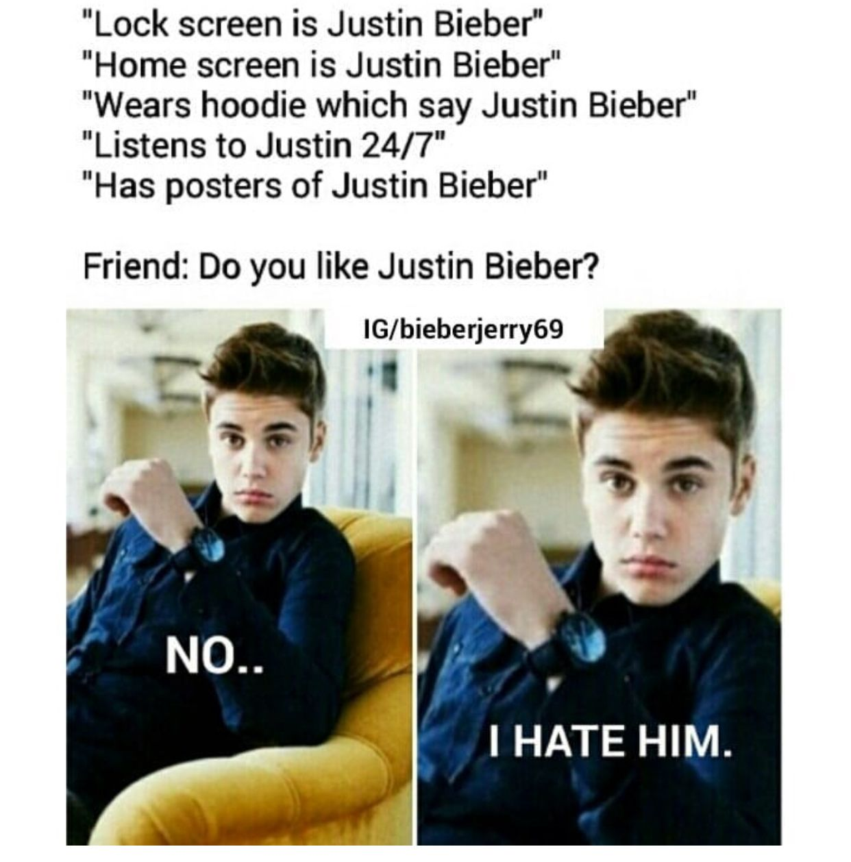 Justin Who Never Heard Of Him Lol Sarcasm Is What I M Best At Justin Bieber Quotes Justin Bieber Facts Justin Bieber Imagines