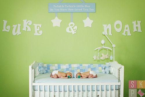 cute nursery design ideas twins twin boys and nursery