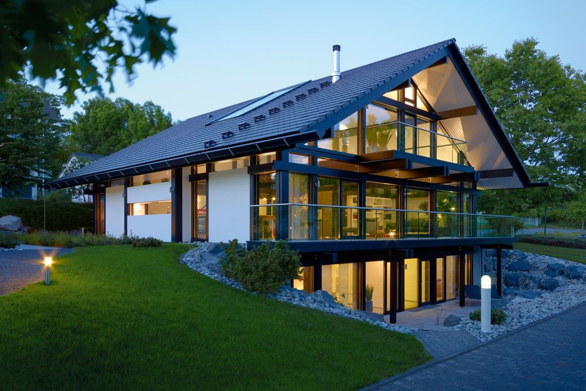 Huf haus first heard of these german houses on grand for Prefab homes designs