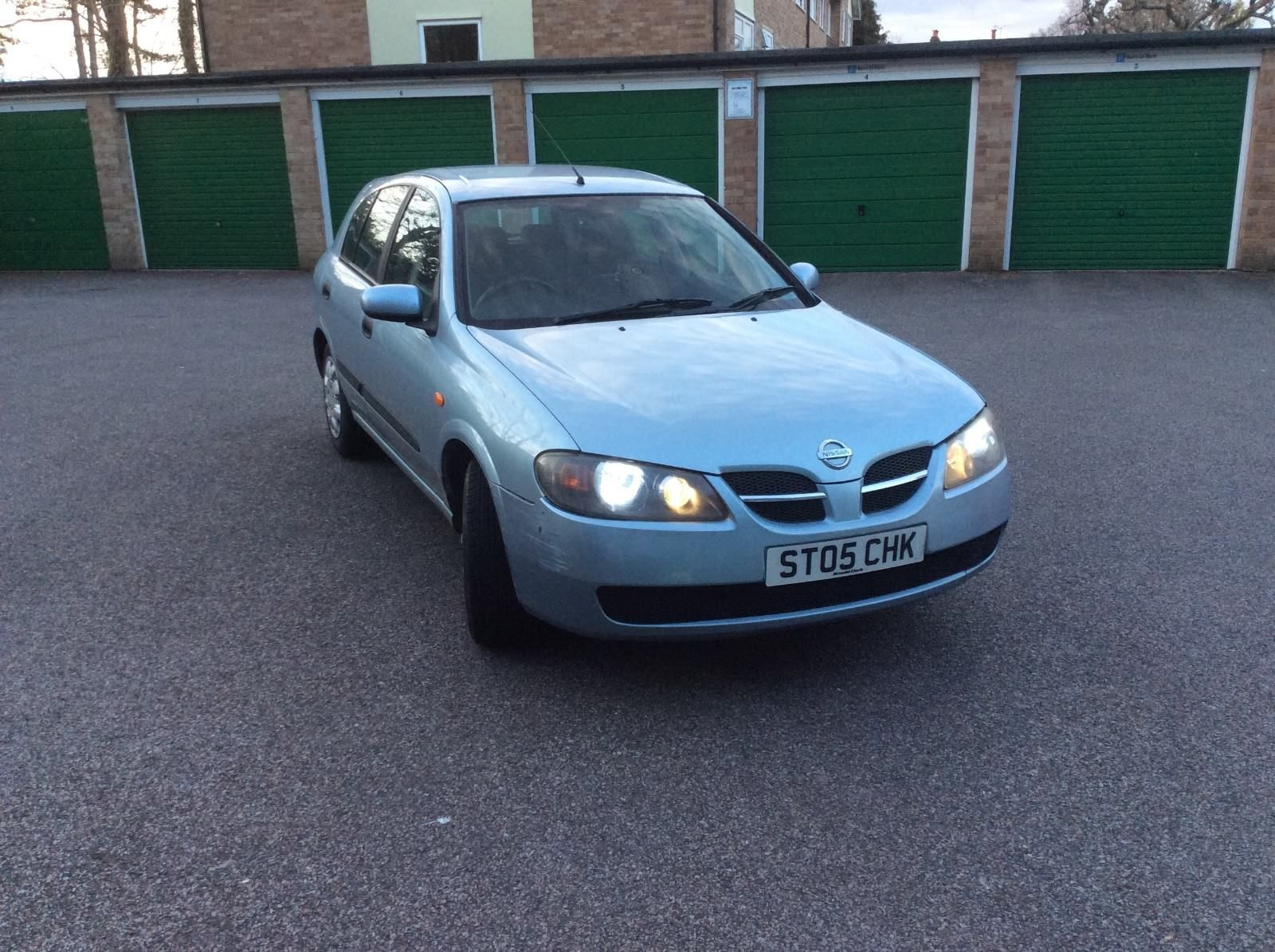 Nissan Almera S 2005 1.5L 95,684 miles Selling For Spare / Repair ...