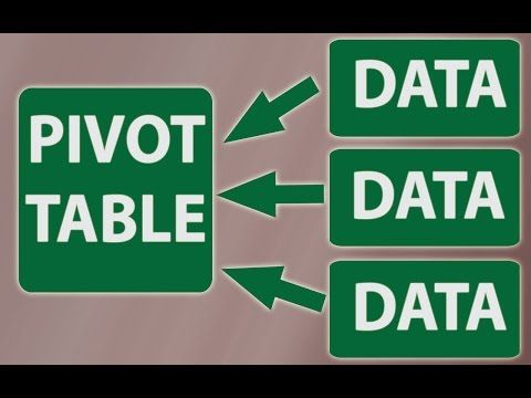 Advanced Pivottables Combining Data From Multiple Sheets Quadexcel Com In 2021 Excel Data Table Data