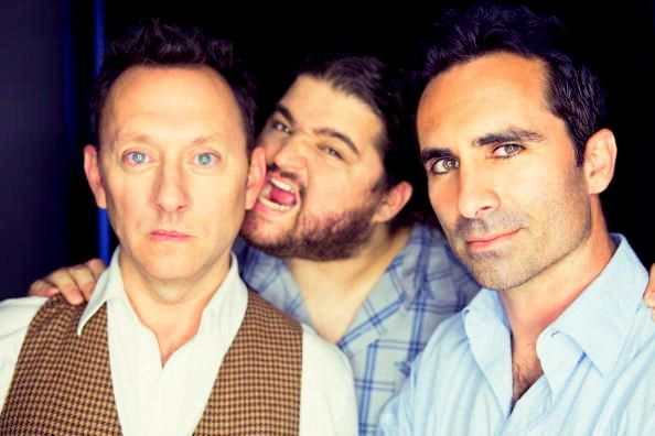 Michael Emerson, Jorge Garcia, and Nestor Carbonell! Oh, they're so cute!