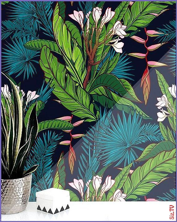 d cran amovible jungle tropicale aquarelle rev tement mural Peel and Stick autocollant Monstera feuilles Paradise 123 Fond d cran amovible jungle tropicale aquarelle rev...