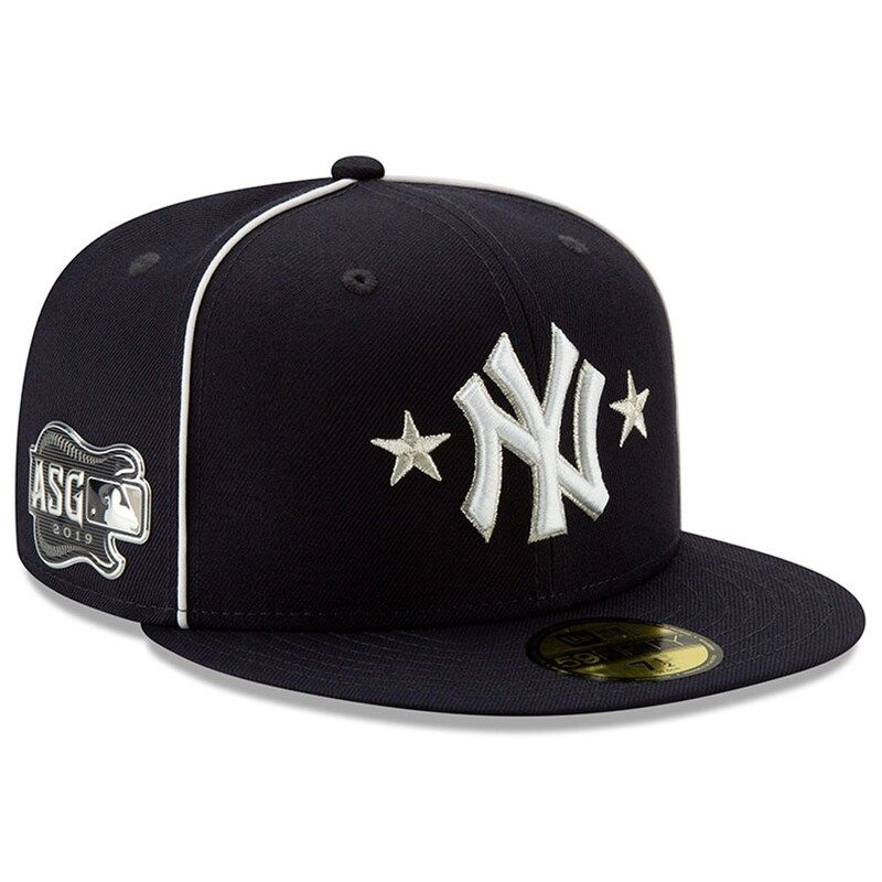 New York Yankees New Era 2019 Mlb All Star Game On Field 59fifty Fitted Hat Navy Fitted Hats New York Yankees New Era Cap