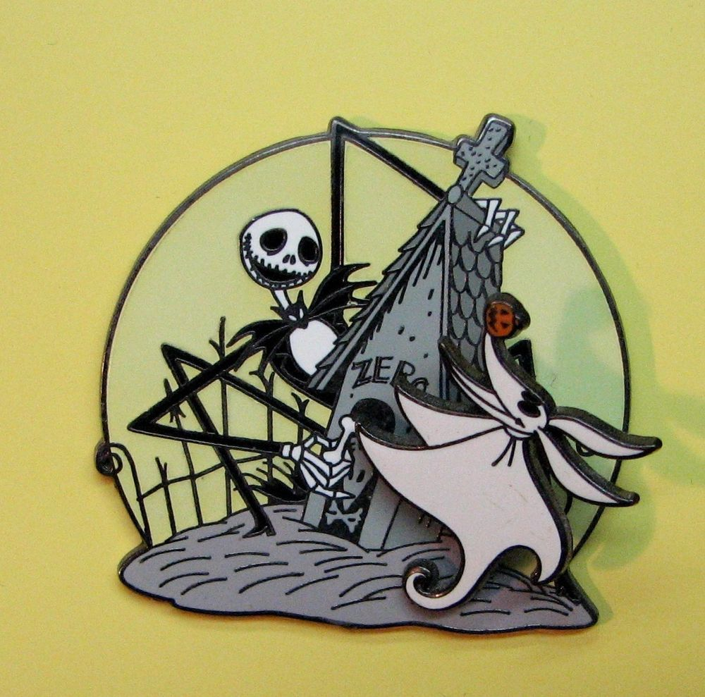 Disney pin nightmare before christmas doghouse moon jack zero on disney pin nightmare before christmas doghouse moon jack zero on spring glows publicscrutiny Images