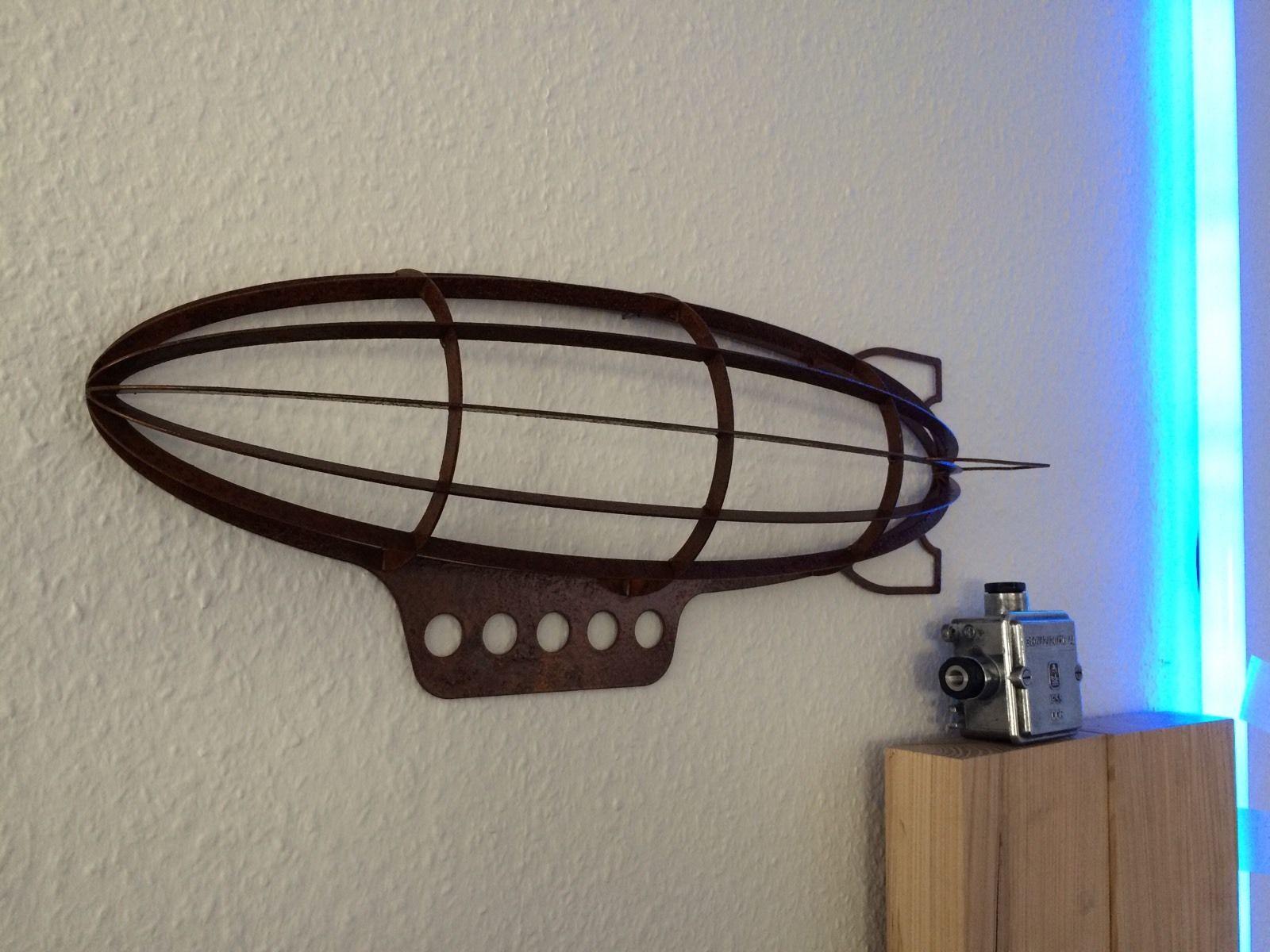 Steunk Deko luftschiff zeppelin steunk dekoration deko ebay handmade by