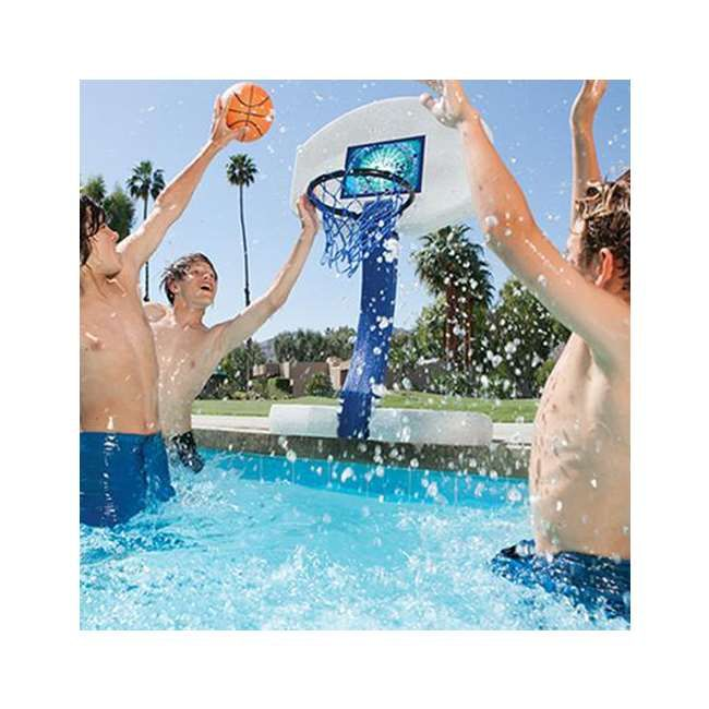 Swimways 2 In 1 Volleyball And Basketball Swimming Pool Game Set Swimming Pool Games Pool Games Swimways