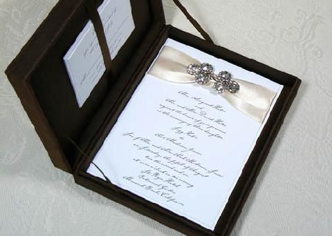 Examples Of Unique Wedding Invitations