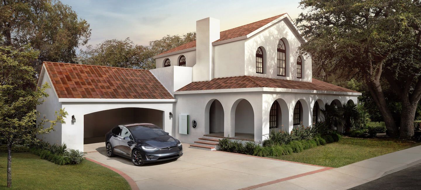 tesla solar le syst me de toit solaire de tesla disponible en france en pr commande ext rieur. Black Bedroom Furniture Sets. Home Design Ideas