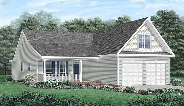 Traditional Style House Plan 45261 With 3 Bed 2 Bath 2 Car Garage Basement House Plans House Plans Traditional House Plan