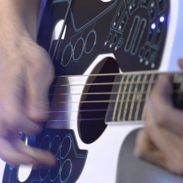 Acpad Midi Controller Petagadget Acoustic Guitar Guitar Cool Guitar