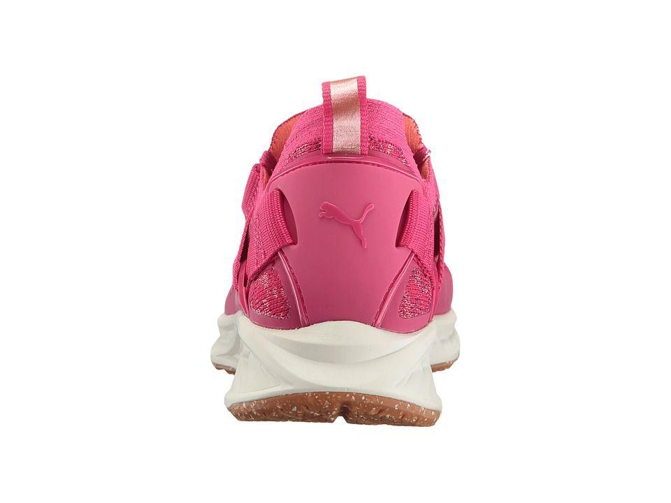PUMA Ignite Evoknit LO VR Women s Shoes Love Potion Nrgy Peach Dark Purple   8d39dd18f