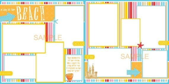 More Cute Simple Scrapbook Page Ideas